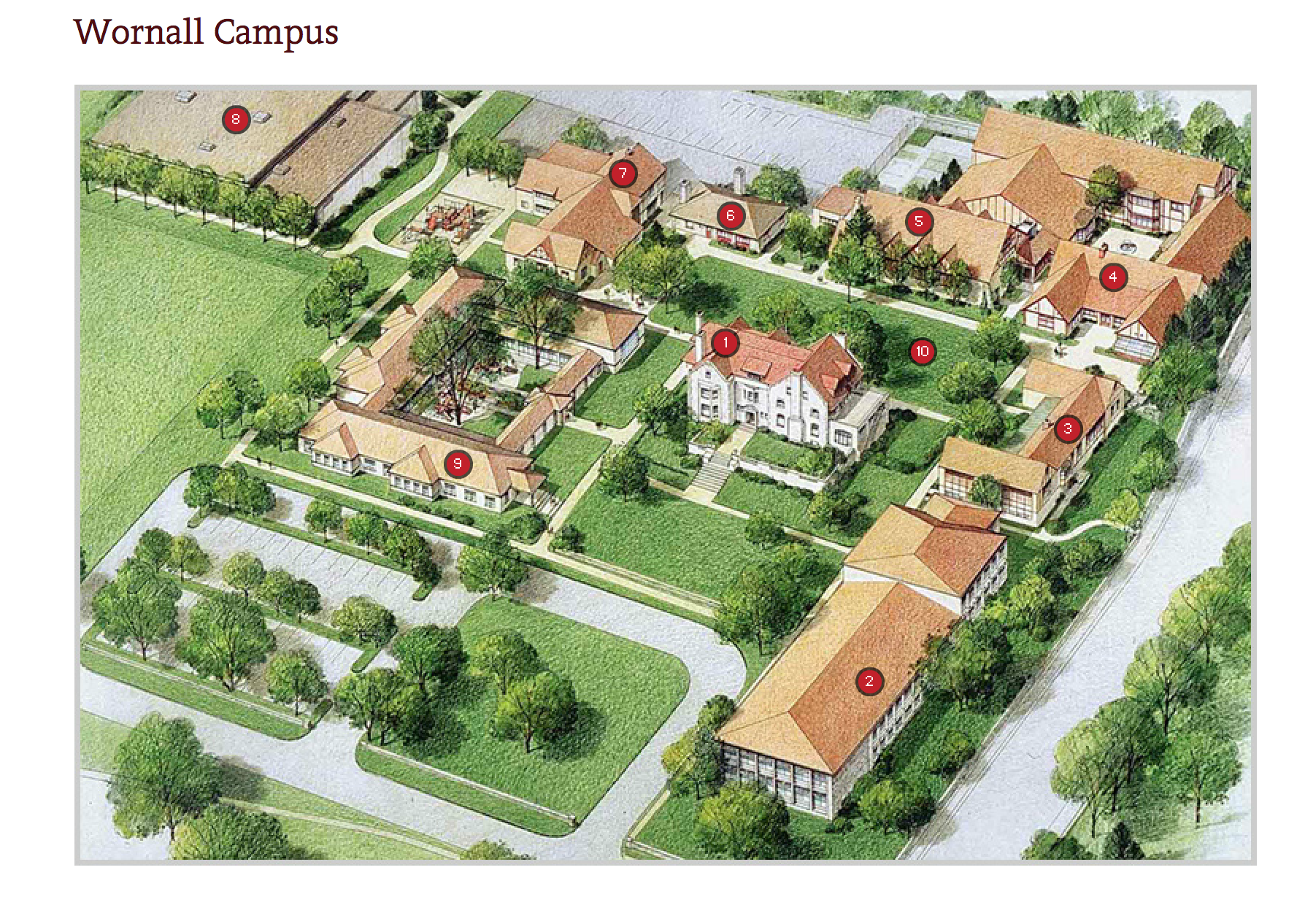 campus map pembroke hill school