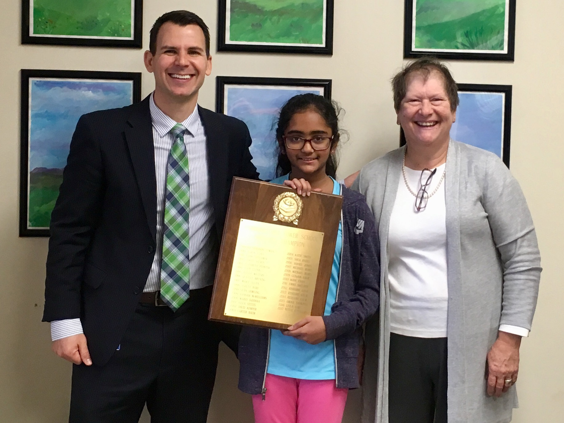 Lower School Spelling Bee Champion Moves On To The Jackson-Clay County Championship Spelling Bee