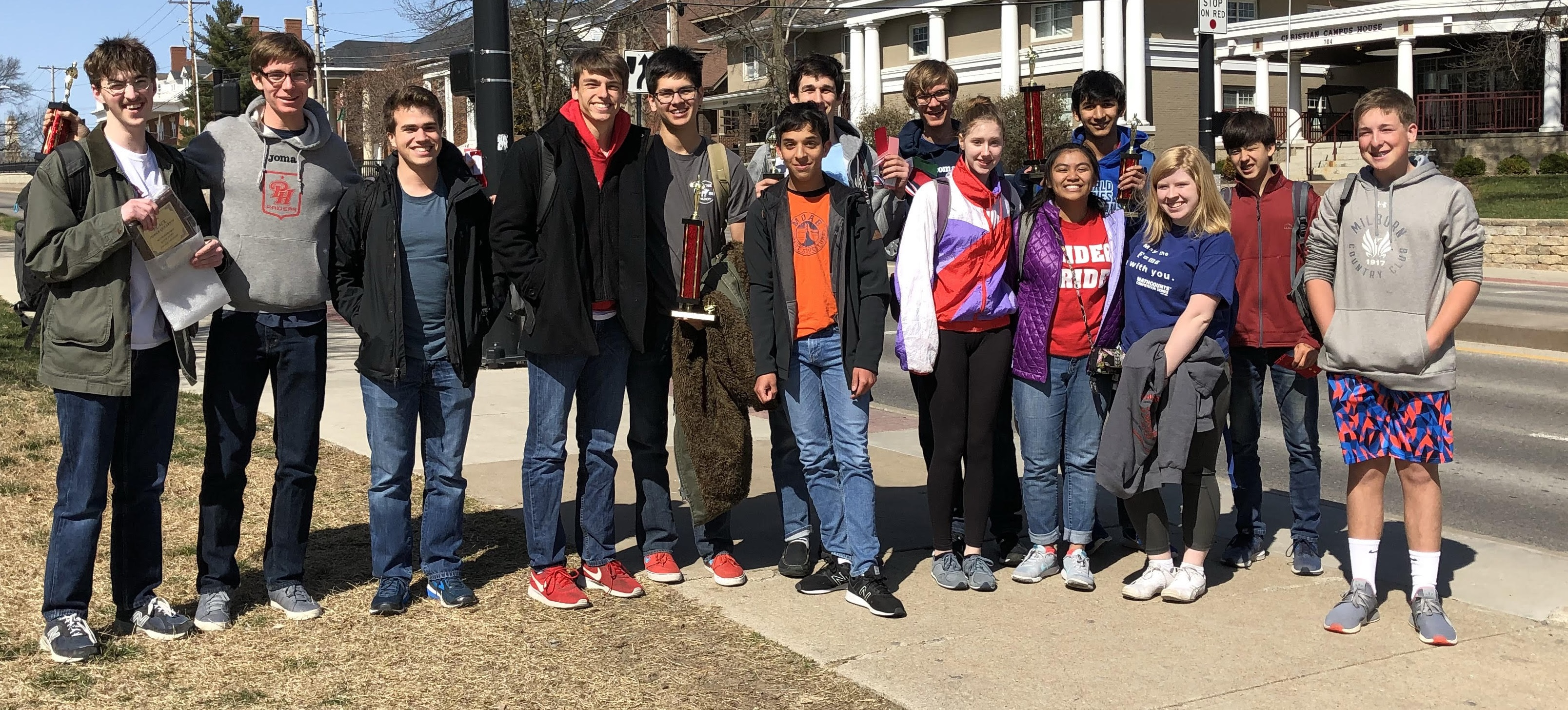 Upper School Math Team Takes Second At State Competition