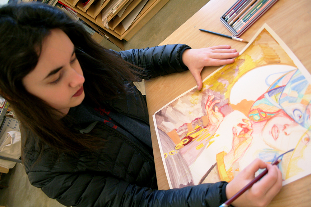 Art Students Receive Scholastic Art Awards