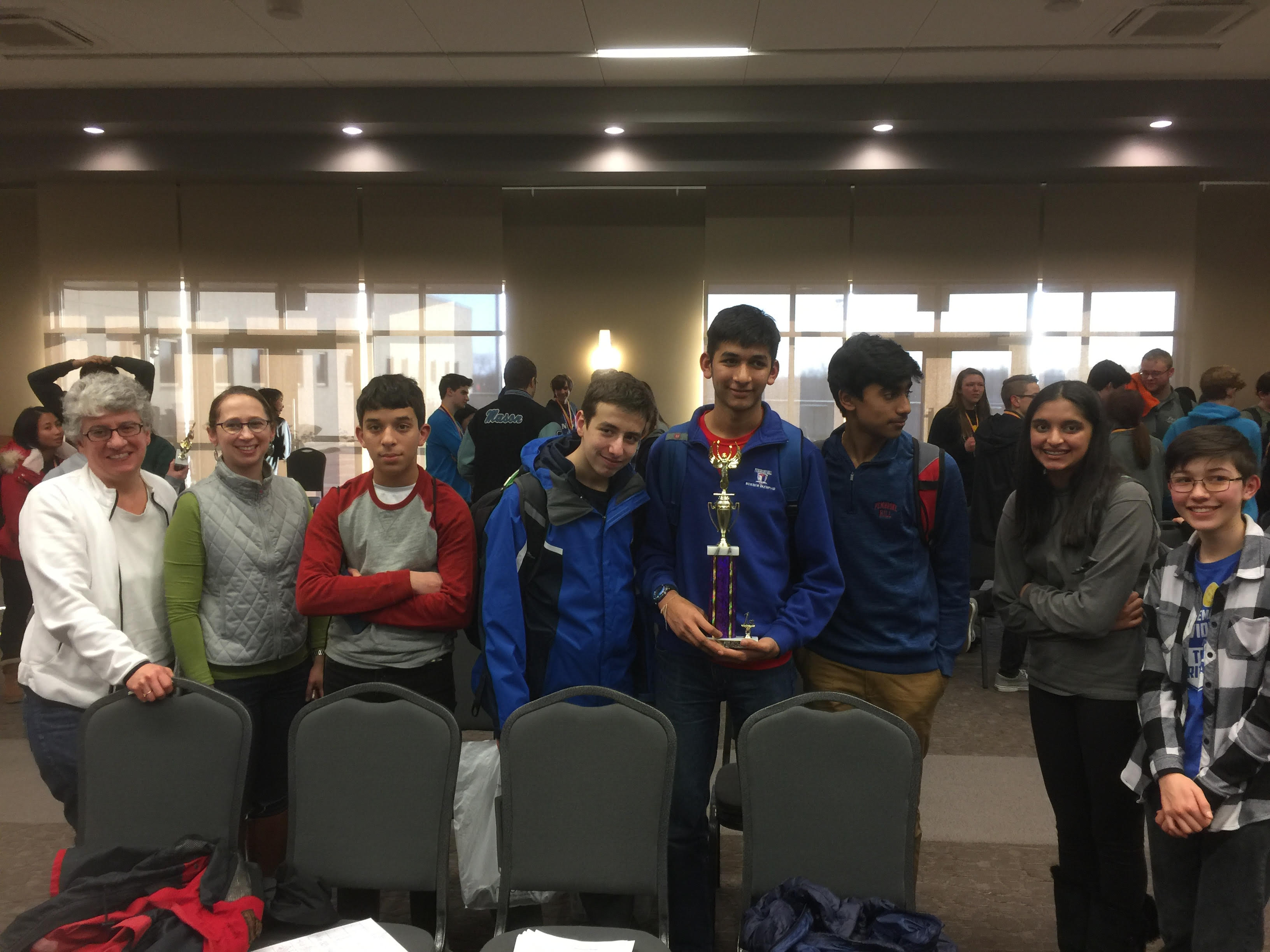 Upper School Science Olympiad Team Secure First Place At Marshall